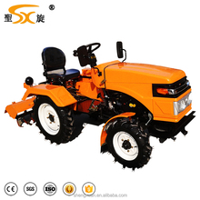 15hp 4-wheels agricultural mini tractor small diesel mini tractor price(SX-15)