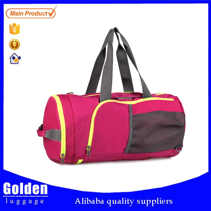 unique wholesale products from china pink and green travel bags with belt large tote travel bags