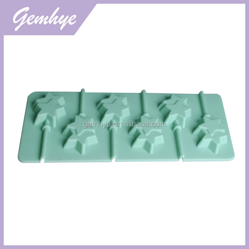 FDA/LFGB Double Star Magnetic Anime Silicone Chocolate Mold