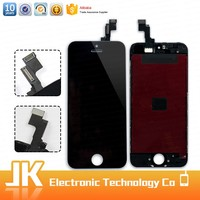 wholesale oem mobile phone parts display lcd screen replacement black for apple iphone 5s
