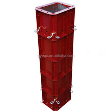 Flexible Steel Metal Round Concrete Column Wall Forms for Sale