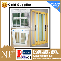 anti-insect pvc sliding screen windows