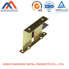 Factory Export Custom Zinc Plated Metal Punching Furniture Part