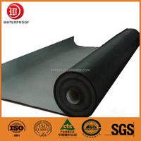 hot sales 2 3 4mm SBS bitumen waterproof membrane and roll building roof asphalt material