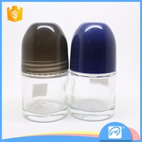 A2462-50ml personal care cosmetic 50ml roll on perfume bottle for sale