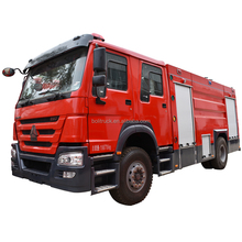 HOWO new foam tank fire fighting truck 19.5ton for sale