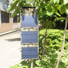 2017 New style camouflage 8W solar panel 1.6A portable solar charger for outside cellphone charge