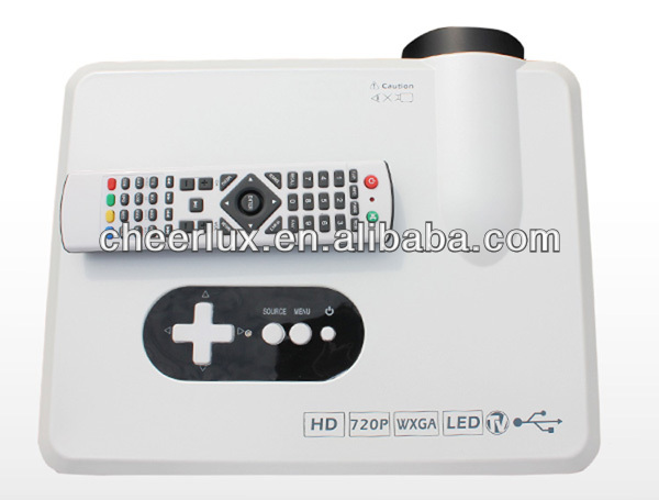 China brightest hd led projector with 150W LED lamp/bulb(50000hours) 3000lumens lcd proyector 3D support