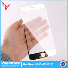 0.3mm 2.5D Anti Broken Electroplate Mirror Colorful Tempered Glass Screen Protector For Iphone 6