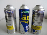 tinplate aerosol can for industrial and chemical products packaging