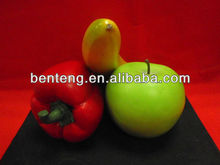 2013 best-selling lifelike foam colorful christmas decoration artificial fruit