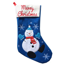 Felt Eco Christmas Stocking Santa Wholesale