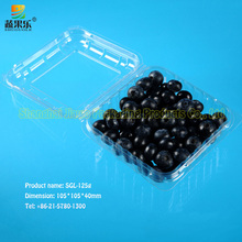 plastic PET packaging fruit and vegetable container
