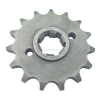 Steel Front Motorcycle Sprocket 428-15T with Off-set for Chain Kit