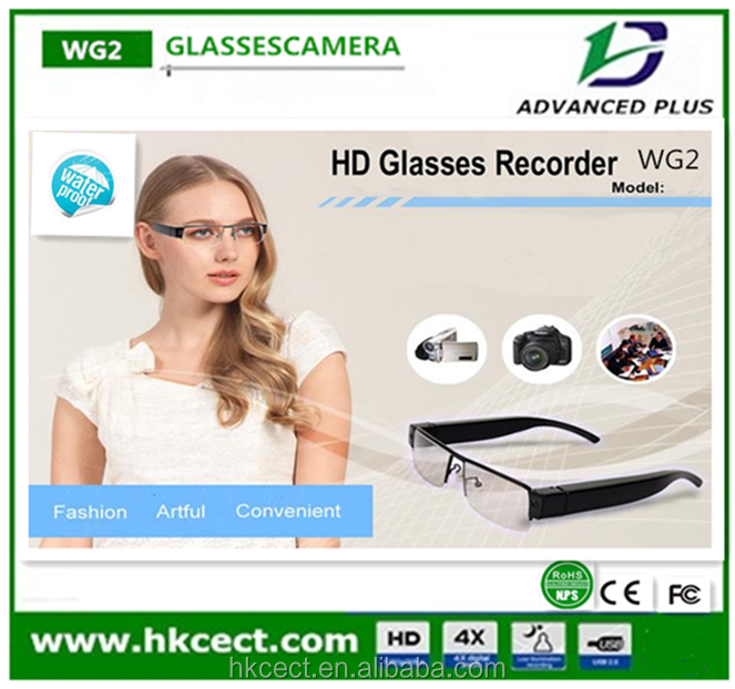 JPEG picture format 500mA battery capacity 28-37mA call current smart glasses camera