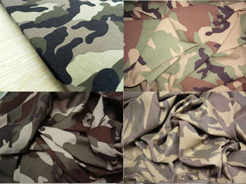 all kinds of camouflage fabric