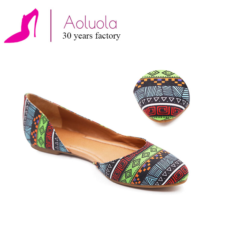 exotic beautiful china comfortable flat wholesale shoe for ladies