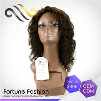 Exceptional Elegant Top Quality Bright And Smooth Grey Deep Wave Curly Hair Full Lace Wig