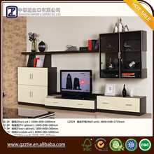 New arrival modern tv stand wall units designs lcd tv unit furniture