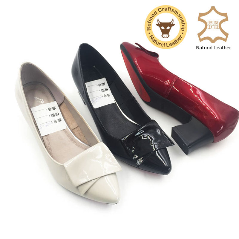 genuine leather italian shoes and bag black wine red leather women shoes
