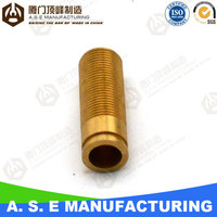 Brass plumbing parts with OEM service special high quality cnc lathe machined parts