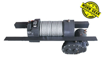 Electric worm gear winch truck NVW12000(12000lbs) DC 12V/24V