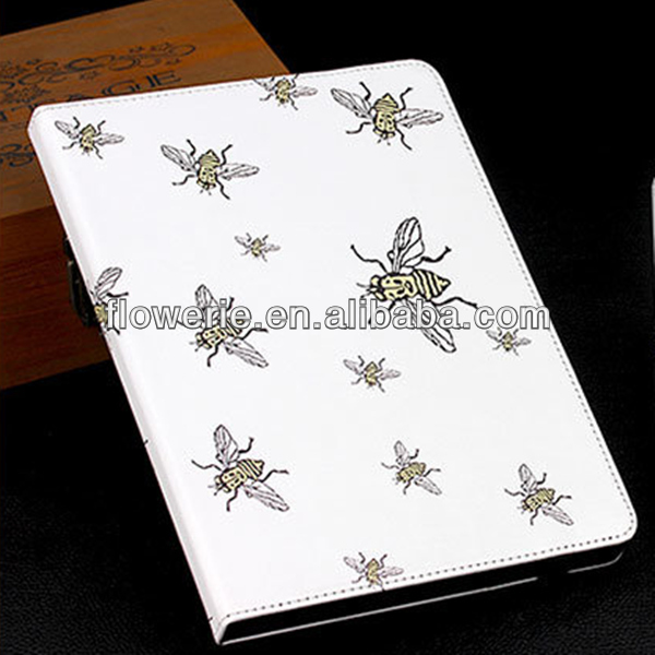 FL3337 2014 high quality stand cute cartoon smart cover case with sleep mode for apple ipad mini 2