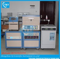 High efficiency spark plasma sintering furnace with cooling fan for graphene preparation