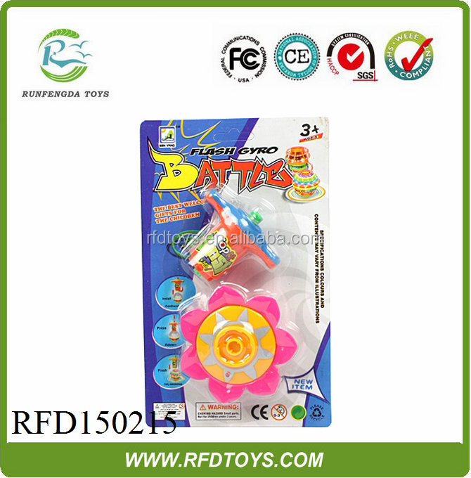 New product,classic wind up spinning top with light,flashing spinning top toy with light