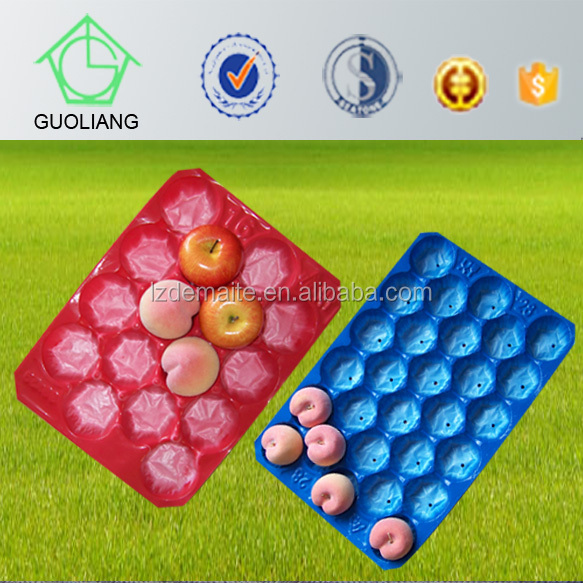 Different Types&Colors Vacuum Formed Blister Packaging Food Grade Plastic Fruit Liner