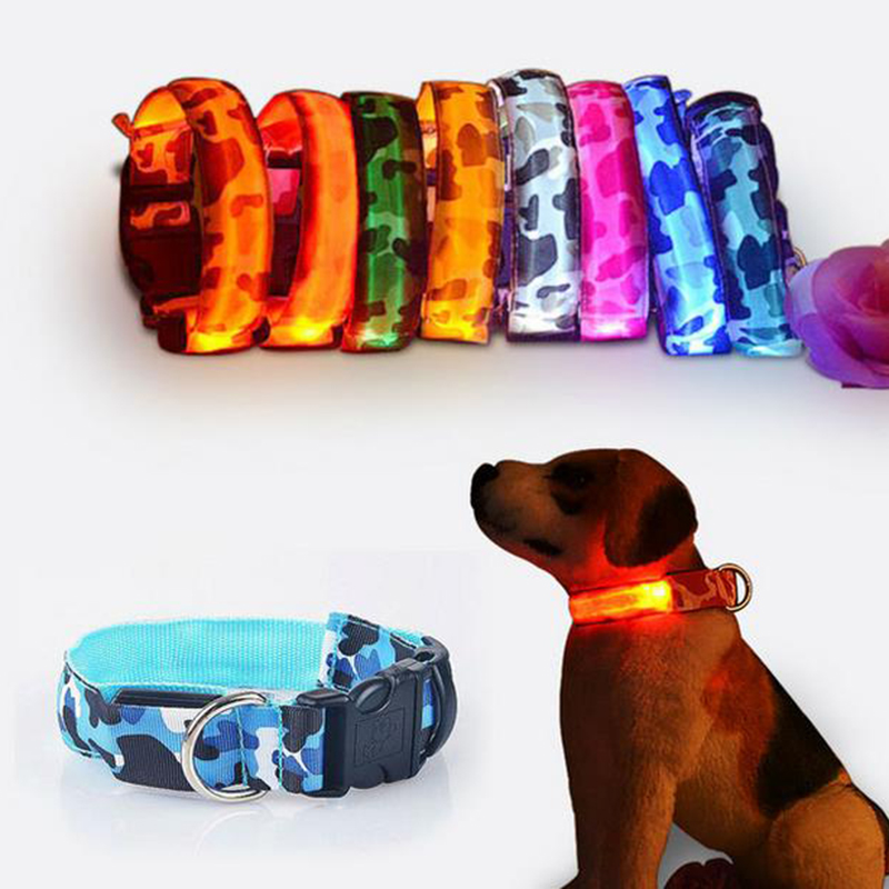 Best selling products pet accessories T0Cls custom fashion led dog collar for sale