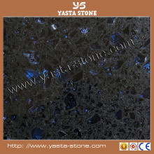 Starlight Engineered Black sparkle quartz stone