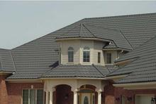 hot sale nigeria sand coated metal roofing tiles blue roofing shingles