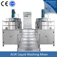 cosmetic stainless steel mixing tank