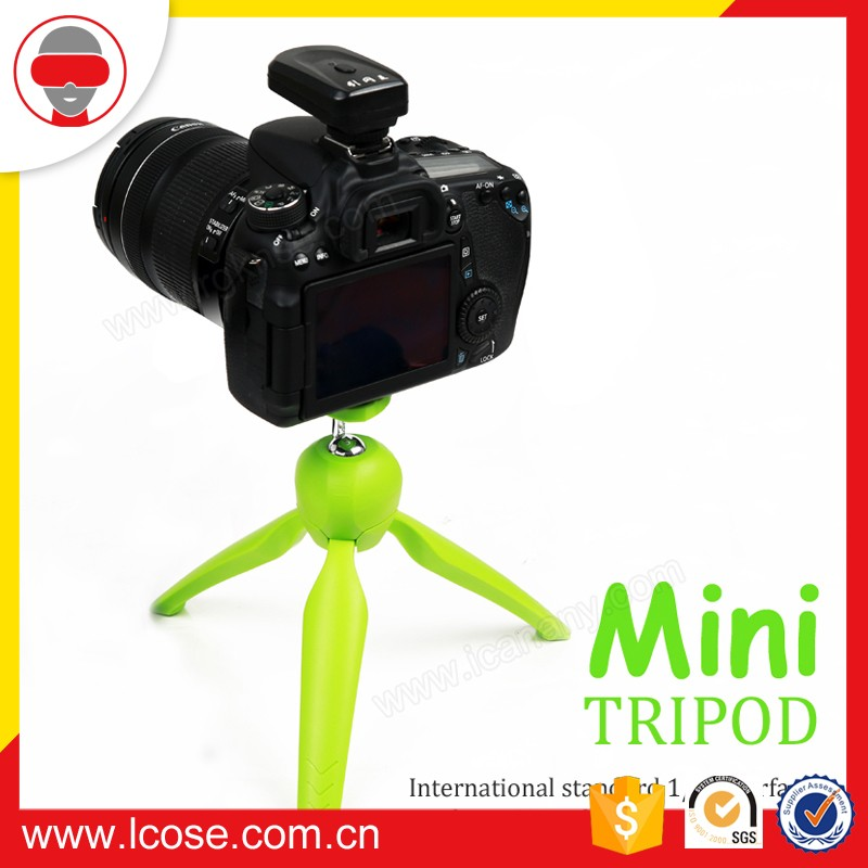 Digital Mini camera tripod Stand monopod Flexible small phone holder