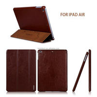 New Trifold Slim Leather Magnetic Samrt Stand Case for ipad 2/3/4/5 air