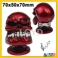 Personality USB Powered Creative Skull Style Mini Metal Speaker for (Table PC/Laptop Notebook/mobile phone/MP3/MP4 player