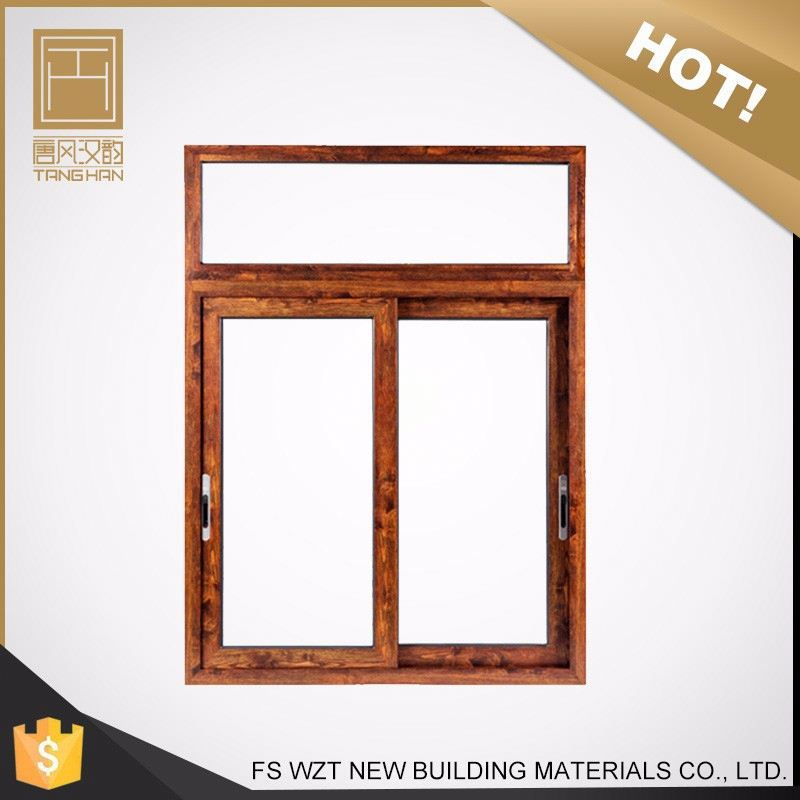 high value Alibaba factory sliding window with blinds