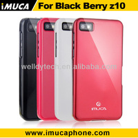 Brand high quality TPU case for Blackberry Z10 case,free screen protector+stylus