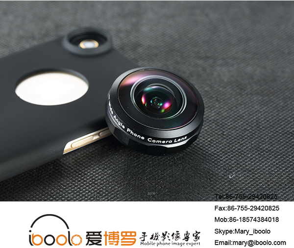 The new model phone camera lens Super Wide lens 238 degree for mobile phone accessoies