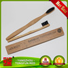 Environmental long handle wooden oral disposable toothbrush for hotels