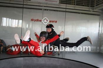 Free fall Simulator , Vertical Wind Tunnel for Indoor Skydiving