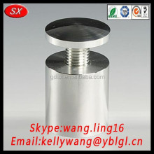 Dongguan manufacture stainless steel 316 glass standoffs, glass steel standoff, standoff bracket for glass
