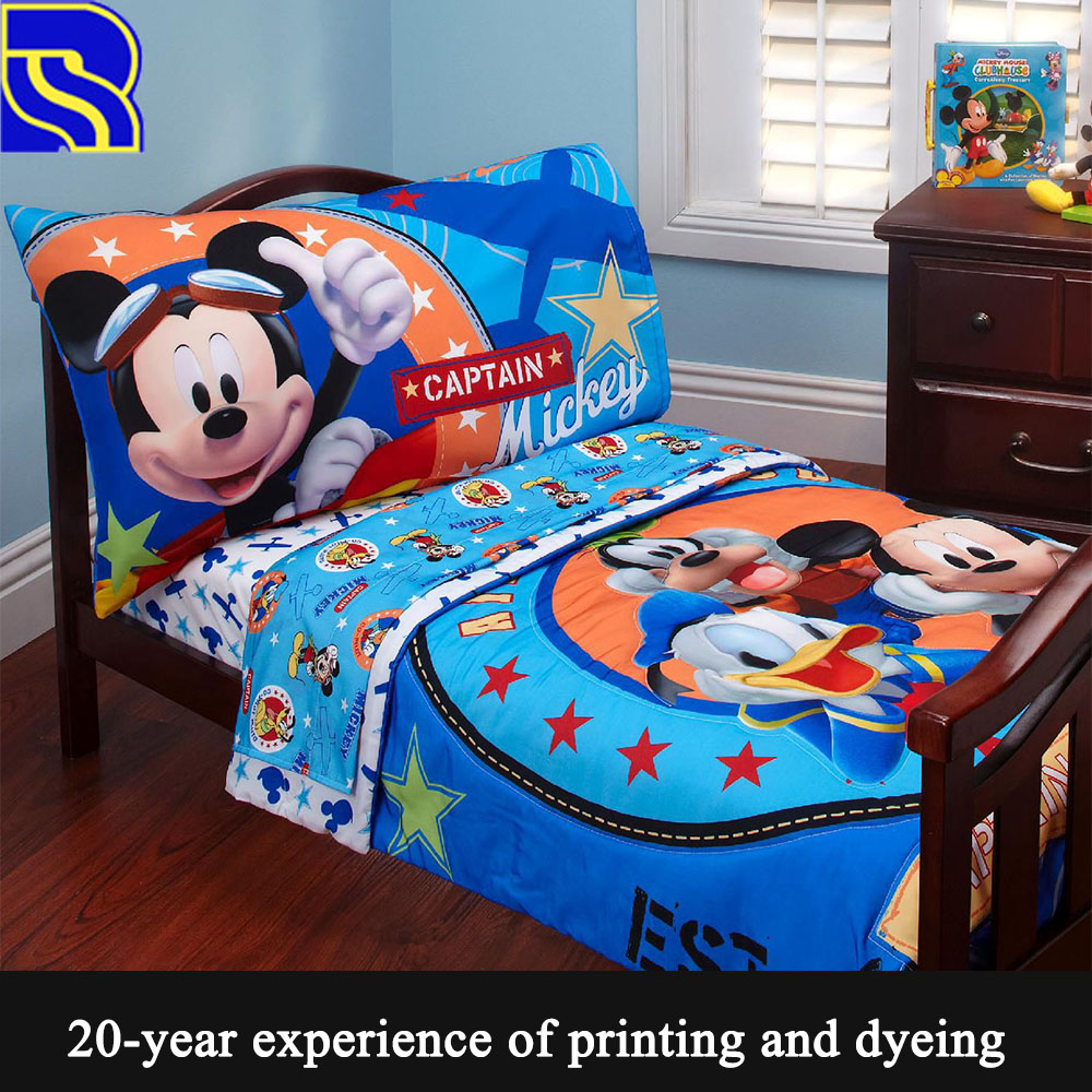High Quality 100 Cotton Mickey Mouse Bedding Set Buy