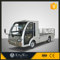 Electric utility truck for cargo delivery for sale