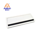 Office square meeting room desk rectangular brush wire cable table hole cover management