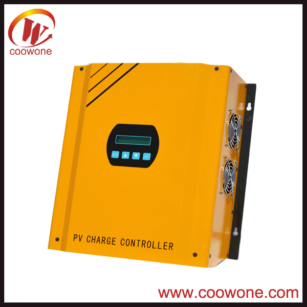 High quality off grid solar panel system controller 192 volt 100A pwm solar charge controller