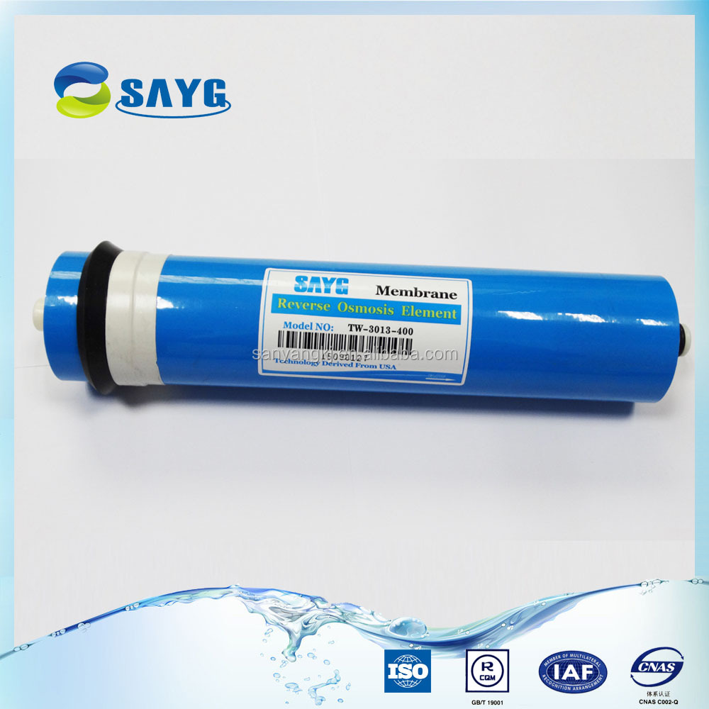 Residential Reverse Osmosis Water Purifier membrane