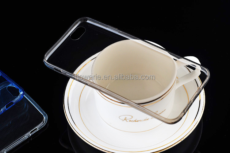 FL2583 TPU clear phone case for iphone6, transparent phone case,for iphone 6 case transparent