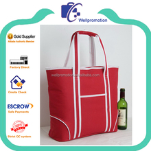 Best choice custom shape printed classic lunch wine cooler bag target